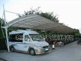 武汉膜结构停车棚 钢结构停车棚 简易停车棚