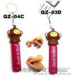 QZ-04搪膠猴子,圓珠筆,摺疊筆