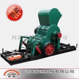 云南昆明双级式破碎机热销|高湿物料粉碎机|高效不堵塞无筛底双级破