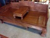 缅甸花梨 虎脚罗汉床 客厅休闲家具 红木家具专业定制  批发价格