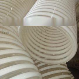 TPU 防寒防冻耐用耐磨软管环保透明大口径钢丝管钢丝伸缩管可定制