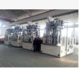 出口俄罗斯的BMC双工位角式自动加料注塑机--杭州锐塑机械有限公司专注塑机行业