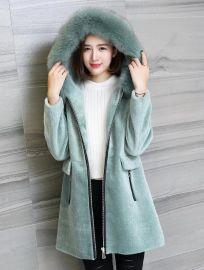 羊剪绒皮草面料|海宁羊剪绒服装厂家|羊剪绒面料