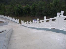 河堤仿石护栏 仿大理石栏杆厂家直销