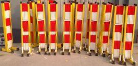 生产销售 伸缩安全围栏 玻璃钢管式绝缘围栏 价钱实惠 品质保障