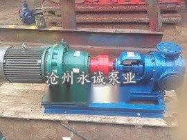 NYP高粘度转子泵应安装硬齿面斜齿轮减速电机