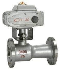 阀天QJ941M高温电动球阀