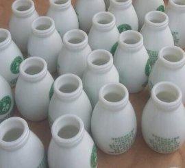 白瓷酸奶瓶烤花价格