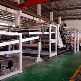 金韦尔PC、PMMA、GPPS塑料导光板材挤出生产线设备