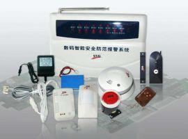 豪爵系列普通电话机型家用/商用智能防盗联网报 主机(LCD)(SA-1168-Y-TEL-LCD)