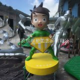 玻璃钢人物雕塑 玻璃钢消防员人物雕塑 玻璃钢消防人员公仔定制