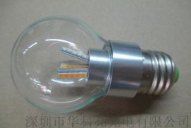 LED蠟燭燈E27 6W球泡型蠟燭燈新世紀2835燈珠6串5並360度發光
