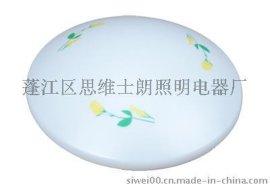 压克力灯罩 高透光吸顶灯罩 康乃磬彩色印花 专业灯罩厂家