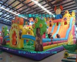 郑奥游乐设备专业生产充气城堡,儿童城堡