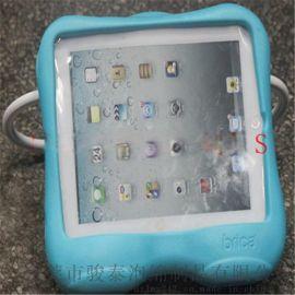 厂家定制多功能手提折叠式抓柄EVA苹果电脑保护套