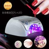 光疗机 48W美甲光疗灯 自动感应CCFL+LED两用升级版带高端夜晶屏