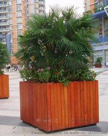景观实木花箱,不锈钢花箱定做工厂价