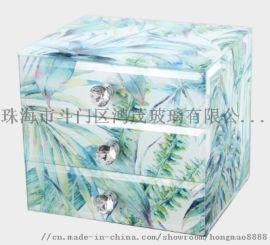 珠海鸿茂厂家定制玻璃首饰盒创意家居饰品