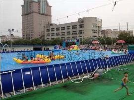 河北大型水上樂園廠家定做多種款式充氣水滑梯