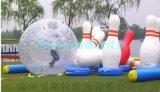 貴州貴陽大型拓展訓練器材供應人體保齡球道具