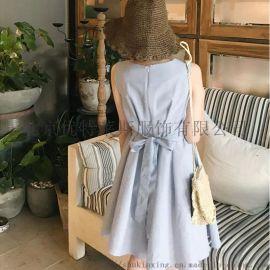海贝品牌服饰折扣加盟折扣女装 库存尾货服装批发
