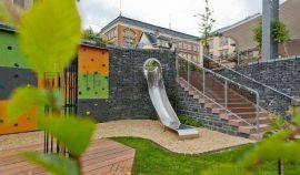 儿童滑梯 不锈钢滑梯 安全消防滑梯 旋转滑梯