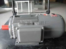 德东YEJ制动0.75KW 6级卧式电机