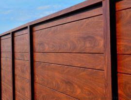 3mm厚木纹铝单板免费测量出图 深圳木纹铝单板