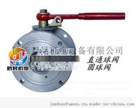 铝合金圆、方球阀 直通开关阀门 洒水两通阀Q41F-10