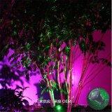 园林庭院景观灯厂家直销 遥控激光草坪灯 圣诞树灯  CE认证
