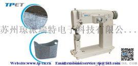 TPET高速双同步曲折缝纫机ET-9300,双压 脚综合送料,立柱式曲折缝纫机