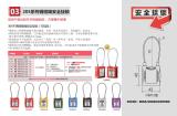 贝安205系列钢缆绳安全挂锁