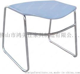 广东厂价直销塑料座板电镀脚架电脑椅