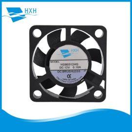厂家生产3007含油打印设备暖风机用轴流风扇微型防水硬盘广告机