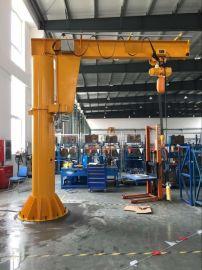 供应移动式旋臂起重机定柱式 墙壁式悬臂吊 质保一年
