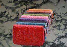 生产女士糖果色卡包FL392卡包 糖果色钱包箱包礼品定做