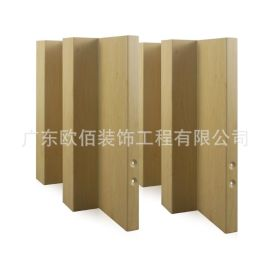 浙江外牆裝飾波浪凹凸面鋁單板 木紋長城鋁單板幕牆