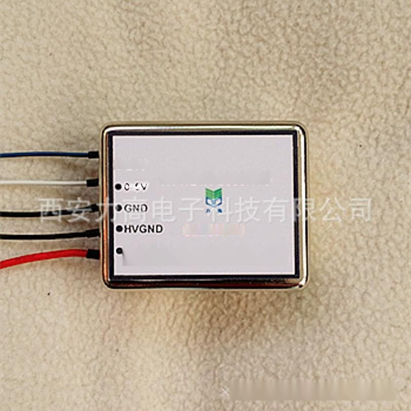 新型一端出线HVW24X-2000NV5 +24V输入+2000V输出,控制高压充电,高压开关电源模块