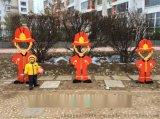消防主题雕塑,消防题材雕塑