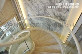卡槽式玻璃楼梯扶手 厂家定制