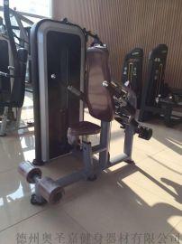 大型健身房商用力量器械三头下压训练器