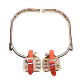 木杆登高电工脚扣爬树脚扣高强度防滑电工木杆登杆脚扣