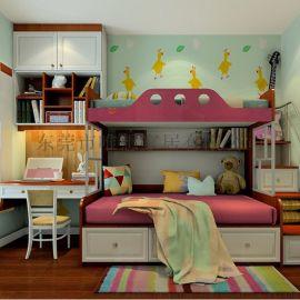 免费量尺定制全屋家具 青少年房 女孩卧房