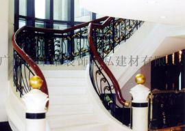 酒店工程 铁楼梯栏杆 楼梯铁护栏 铁艺楼梯栏杆