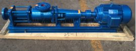 G型单螺杆污泥泵,不锈钢螺杆泵
