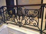 廣州別墅樓梯鐵欄杆 樓梯欄杆定製 室內樓梯欄杆