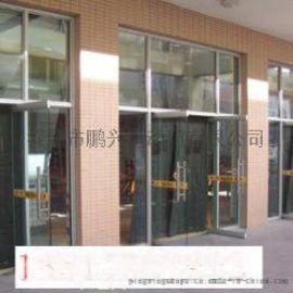 深圳南山月亮湾维修钢化玻璃门密码锁安装