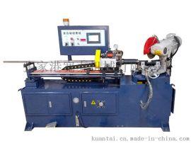 供應325伺服轉角液壓全自動切管機