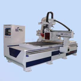 四头木工雕刻机/双独立木工雕刻机 板式家具生产线