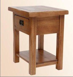 白橡木灯桌,几角,小桌床头柜